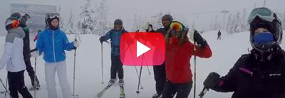 På Skitur til Norge